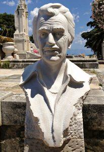 Portret u kamenu bista bijeli brački kamen